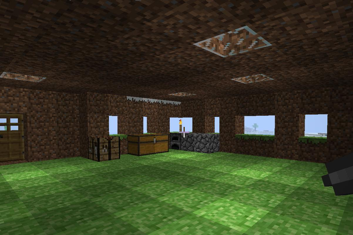 Minecraft mis progresos tent culo p rpura - Minecraft boquete ...